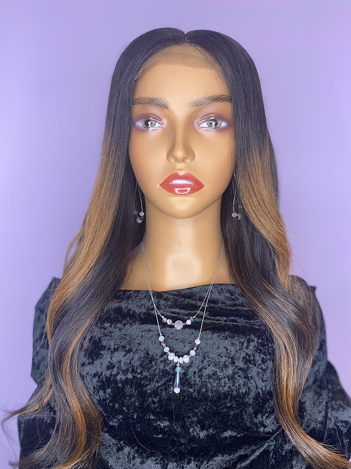 """East European Wig - 24"""" -With Highlights"""