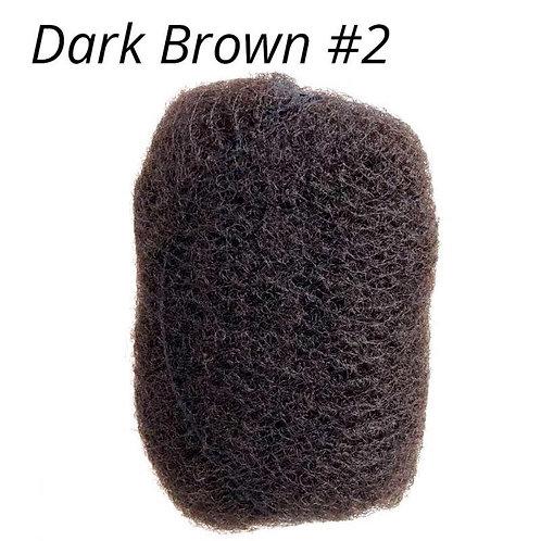 Dark Brown #2- Afro Kinky Bulk Hair