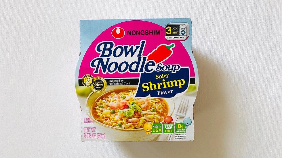 Bowl Noodle Soup:Spicy Shrimp Flavor (86g)