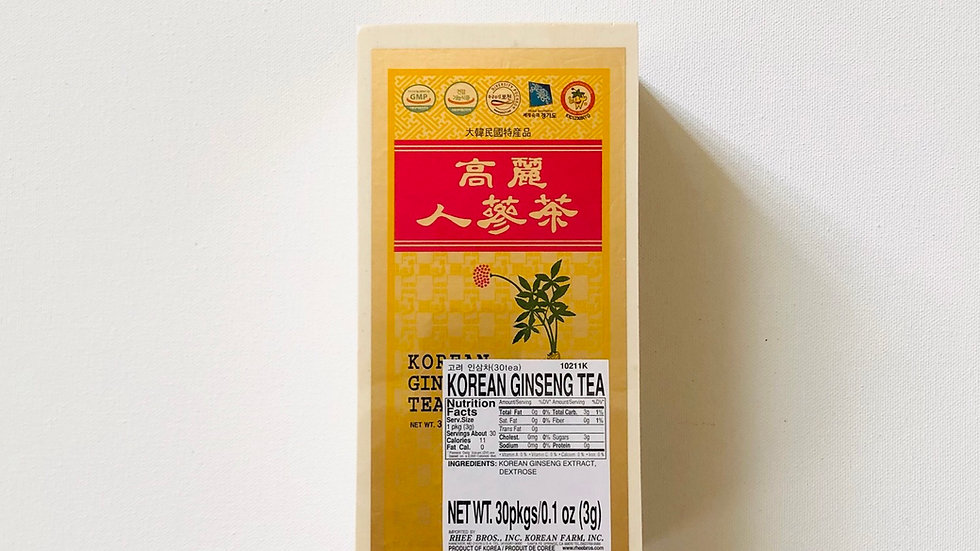Korean Ginseng Tea (30tea)
