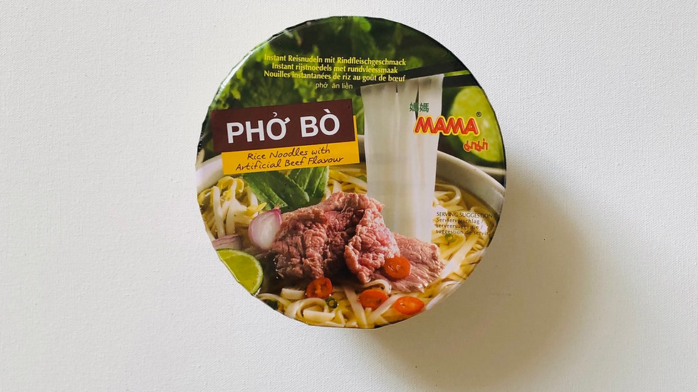 PHO BO Rice Noodles :Beef Flavor (65g)