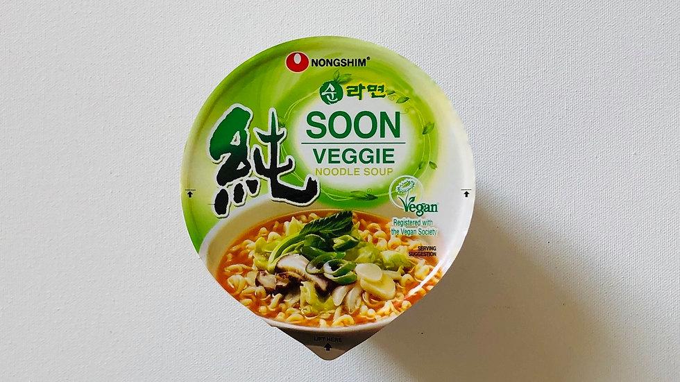 Soon Veggie Noodle Soup 🌿vengan(75g)