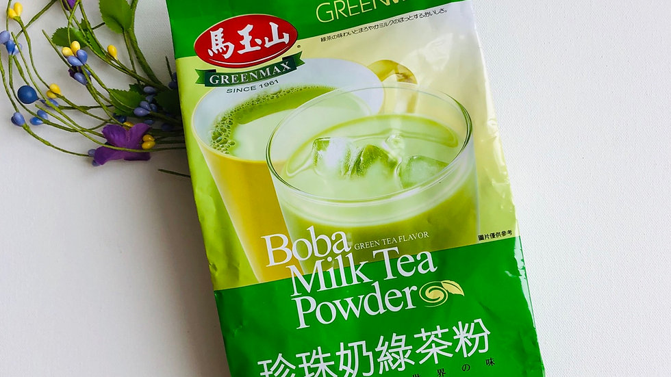 Boba Mila Tea Powder:Green Tea Flavor(700g)