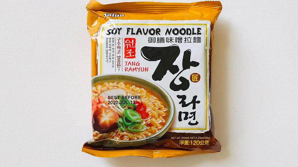 Soy Flavor Noodle 장라면 (120g)