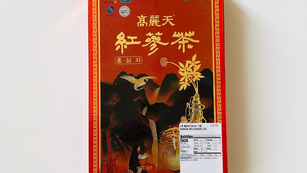 Korean Red Ginseng Tea (100 Tea)