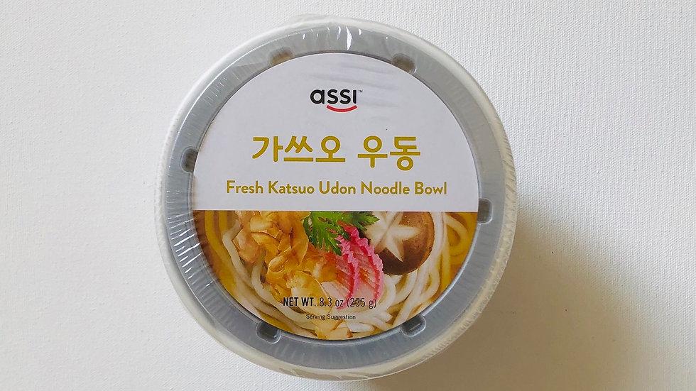 Fresh Katsuo Udon Noodle Bowl (235g)