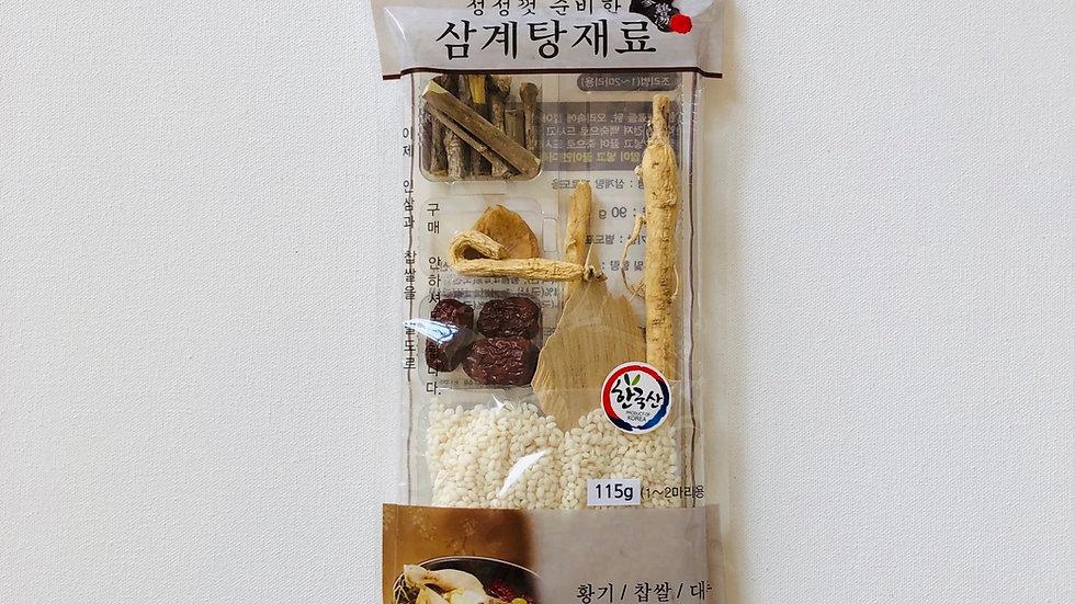 Dried Herb for Samgyetang 삼계탕(115g)