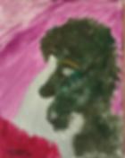 Beatnik acrylic on canvas 10x8 202001063301
