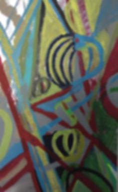 Radiance acrylic on laminated board 24x15