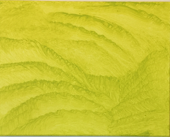 Citron Sunami acrylic on canvas 11x14 20190915