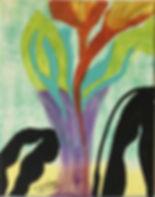 Cata Strophe acrylic on canvas 10x8 20200311