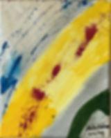 Arcing acrylic on canvas 10x8 20200210