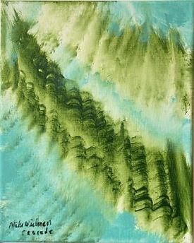 Cascade acrylic on canvas 10x8 20200213