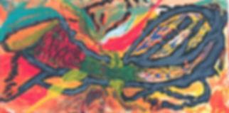 Loungers acrylic on canvas 24x48
