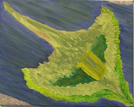 Flyover acrylic on canvas 8x10 20191005.