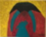 Howl acrylic on canvas 8x10 20190811