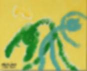 Dance Duet acrylic on canvas 8Dance Duet acrylic on canvas 8x10 20200211x10 202002