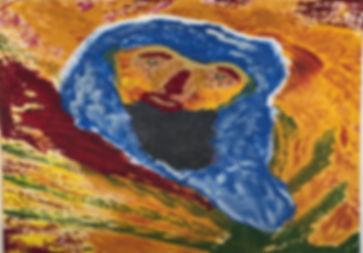 Bluebeard Acrylic on Canvas 30x24