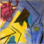 The Harvest acrylic on canvas 40x40