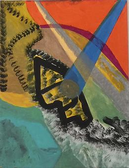 Beacon acrylic on canvas 20x16 20180117