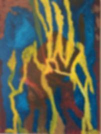 Box Hoist acrylic on canvas 24x18 20200627