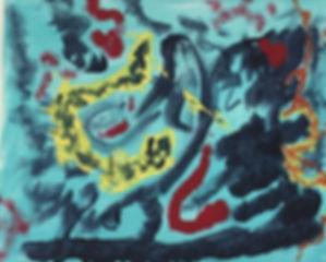 Rolfer acrylic on canvas 16x20 20171201