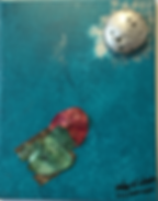 To SilverTo Silver Moon acrylic on canvas 10x8 20190816