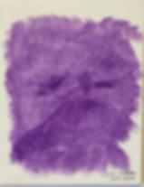 Catty Face acrylic on canvas 10x8 20200201