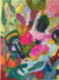 Revery acrylic on canvas 18x24 20200530.