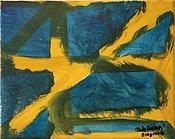 Diagonal acrylic on canvas 8x10 20190724
