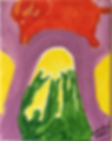 Boared acrylic on canvas 10x8 20190719