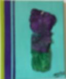 Casual Dress acrylic on canvas 10x8 20190810