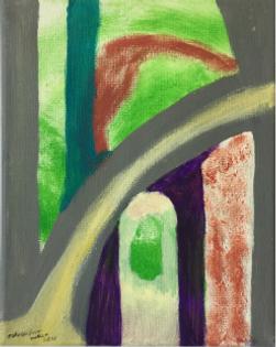Goose acrylic on Goose acrylic on canvas 10x8 20200122