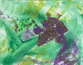 Heart Throb acrylic on canvas 16x20 20170820