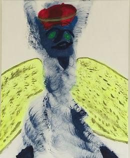 Tah Dah acrylic on canvas 20x16 20170805