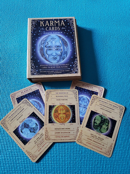 Used Karma Cards by Monte Farber