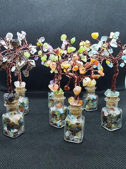 Mini Chakra Forest Jars