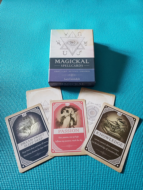 Used Magical SpellCards by Lucy Cavendish