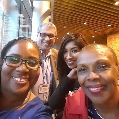 D81 trio with Shirley Daley (PDG)