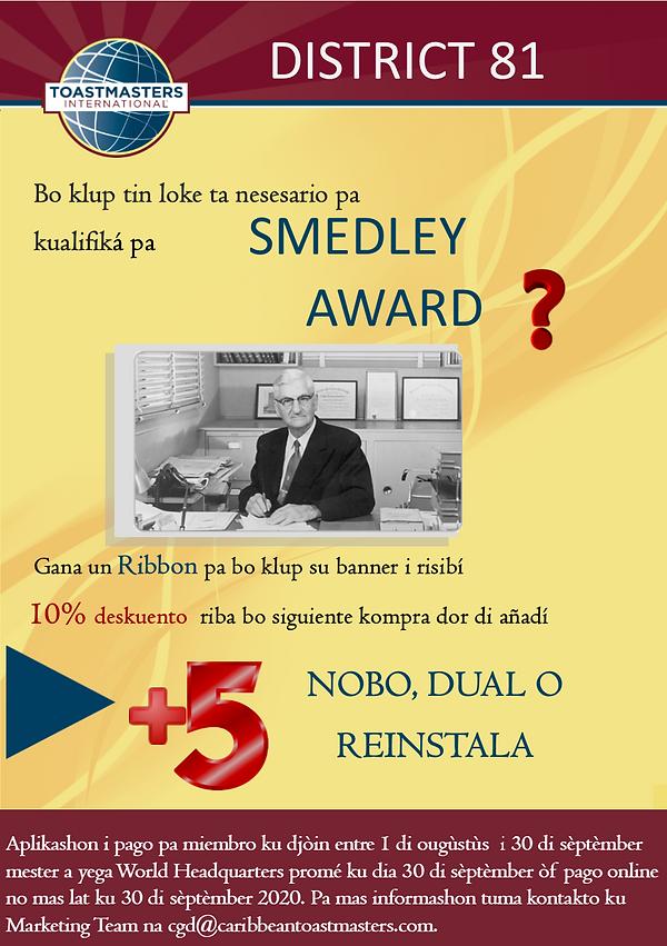 Smedley Award 2020 - Papiamentu.png