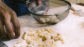 Fresh Potato Gnocchi w/ Rosemary Garlic Brown Butter Sauce