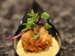 Vegan Coconut Curry w/ Crispy Sushi Rice
