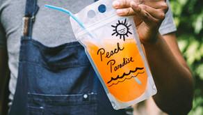 Peach Paradise Adult Capri Sun