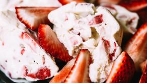 No Churn Strawberry Ice Cream