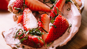 Roasted Strawberry Cream Cheese