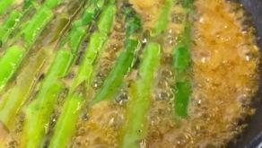 Tangie Glazed Asparagus