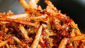 Crispy Truffle Parmesan Fries!
