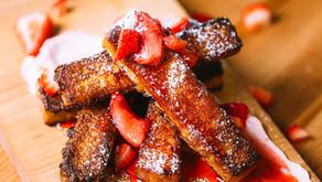 Strawberry French Toast Stix!!