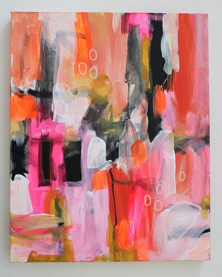 """Pink Dream 1"" 16x20 in."