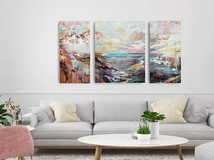 """""""Freedom to Explore"""" - triptych"""